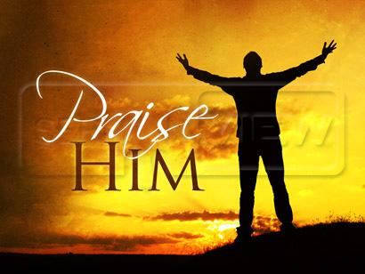 SermonView - Praise Him - Sunset