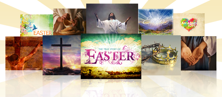 Easter Biblical PowerPoint Slides for churches
