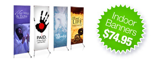 Church Banners Avaialble - Starting at just $74.95
