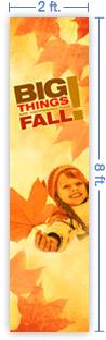 2x8 Vertical Banner