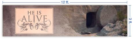 12x3 Horizontal Banner