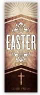 Church Banner of Easter Cross