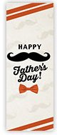 Church Banner of Fathers Day Mustache