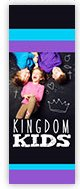 Church Banner of Kingdom Kids