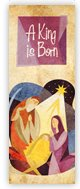 Church Banner of Manger - Parchment