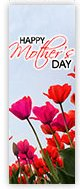 Church Banner of Mothers Day Tulips