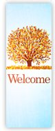 Church Banner of Welcome - Fall